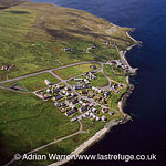 Mossbank, village in the north east of the Mainland of Shetland, Shetland Islands, Scotland